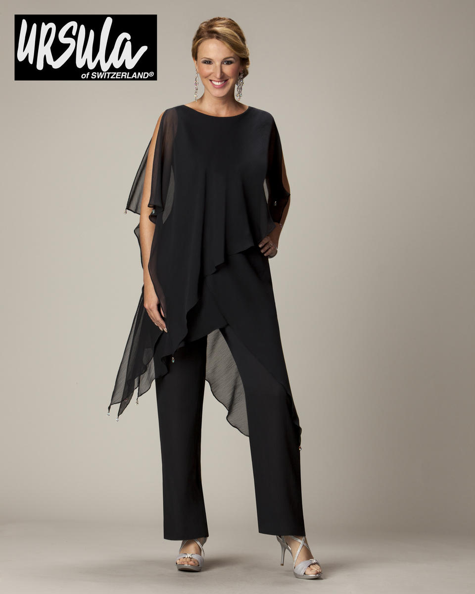 Ursula 41286 Plus Size Mothers Pant Set - French Novelty