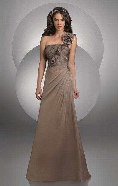 e43bdea9f55 Bari Jay Ruffle One Shoulder Bridesmaid Dress 414