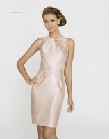 Alexia Designs 4144 Short Sleeveless Bridesmaid Dress image