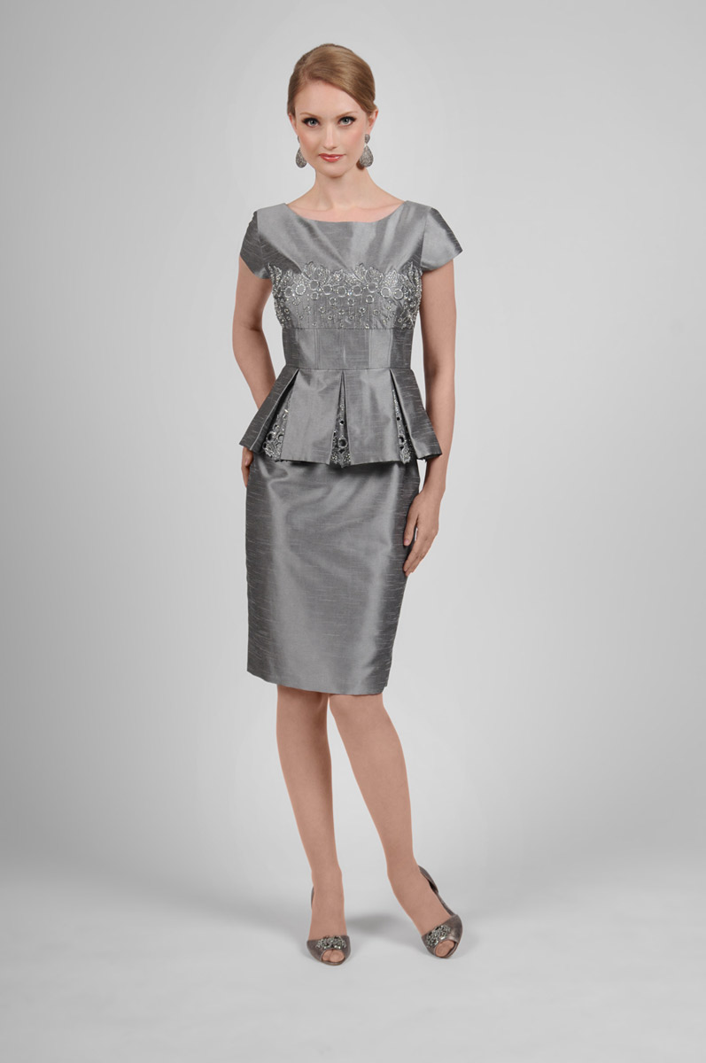 Daymor Couture 415 Mother Of The Bride Short Dress