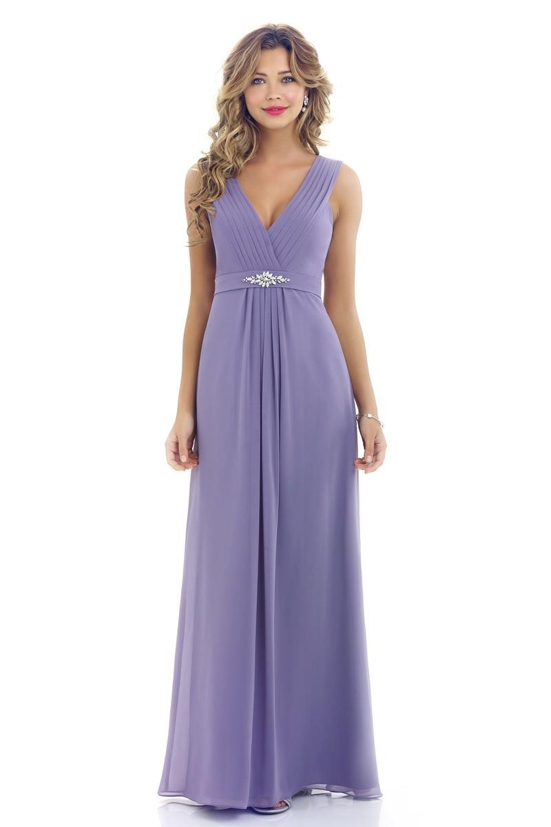 Alexia 4200 Bella Chiffon Long Bridesmaid Dress: French Novelty