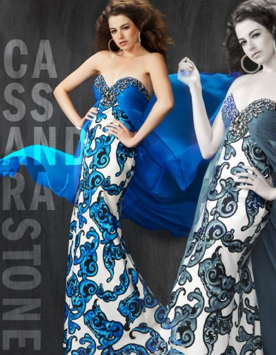 Blue Prom Dress Patterns