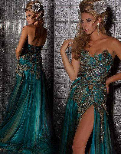 Mac Duggal Peacock Dresses
