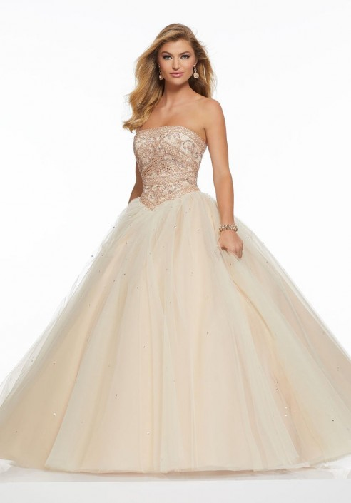 Morilee 43005 Beautiful Ball Gown: French Novelty