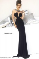 Sherri Hill 4329 Evening Dress with Cut Outs image