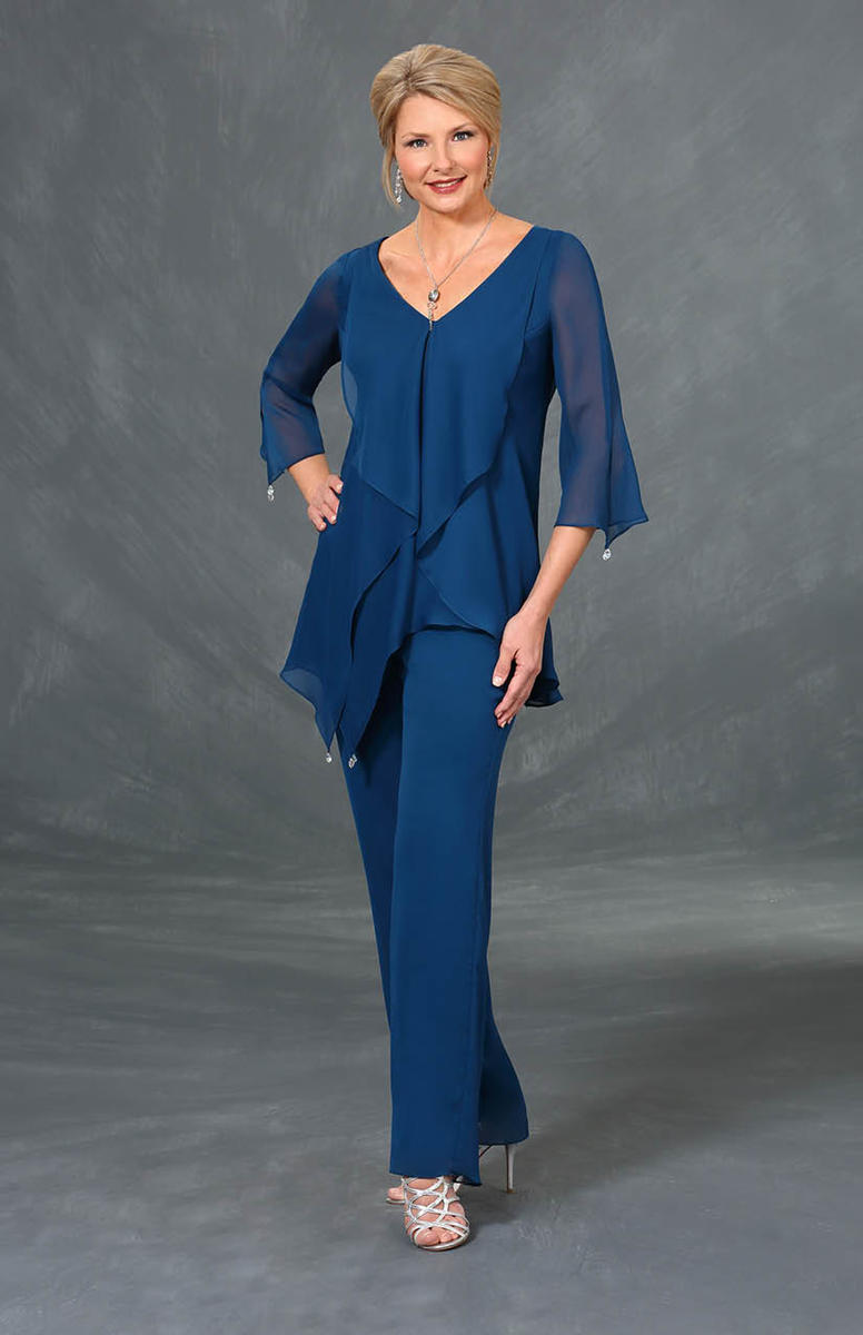 Ursula 43310 Plus Size Mothers Pant Suit: French Novelty
