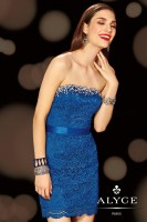 Alyce Paris 4398 Short Glittering Dress image