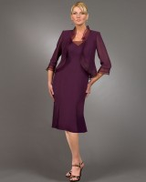 Ursula Plus Size  Mother of the Bride Dress 43990 image