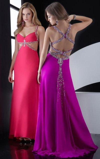 Jasz Simply Stunning Long Prom Dress with Low Back 4531: French Novelty