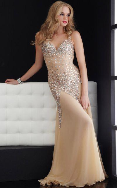 40e1034317 Jasz Shine Like the Stars Prom Dress 4614  French Novelty