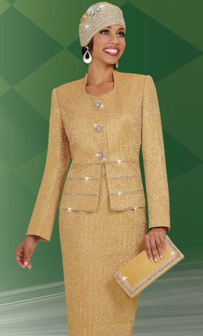 Ben Marc International Womens Church Suit 4620 French Novelty