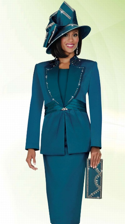Ben Marc International Womens Church Suit 4632 French