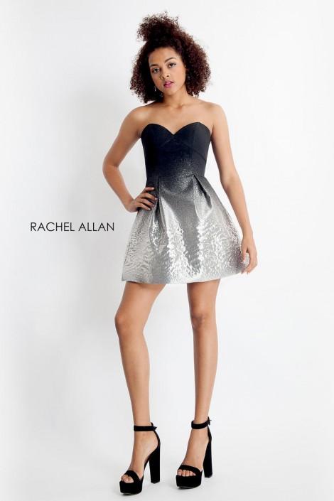 26256ea143 Rachel Allan 4685 Ombre Cocktail Dress  French Novelty
