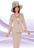 Ben Marc 47526 Womens 3pc Church Suit image