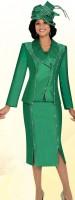 Ben Marc 47608 Womens 3pc Church Suit image