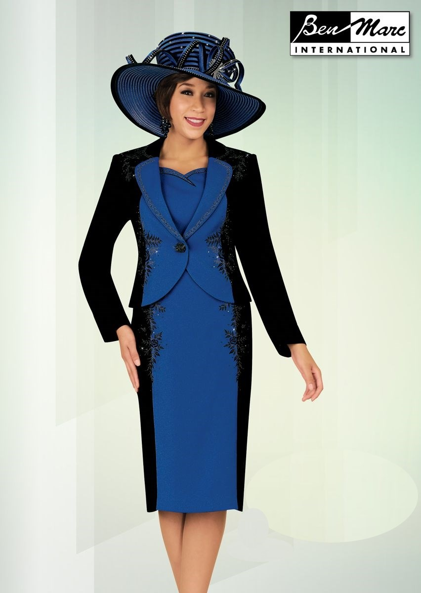 Ben Marc 47616 Womens Church Suit French Novelty
