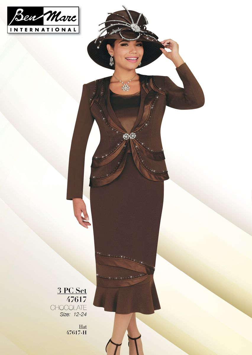 Ben Marc 47617 Ladies Church Suit French Novelty