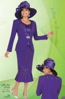 Ben Marc 47618 Womens 3pc Church Suit image