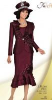 Ben Marc 47621 Womens 3pc Church Suit image