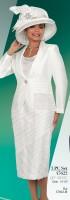 Ben Marc 47622 Womens Shantung Church Suit image