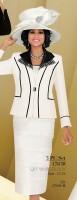 Ben Marc 47638 Womens 3pc Church Suit image