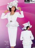 Ben Marc 47642 Womens White Church Suit image