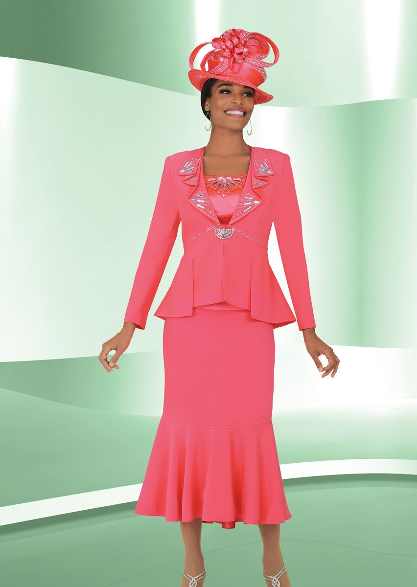 Ben Marc 47711 Womens Flattering Church Suit French Novelty