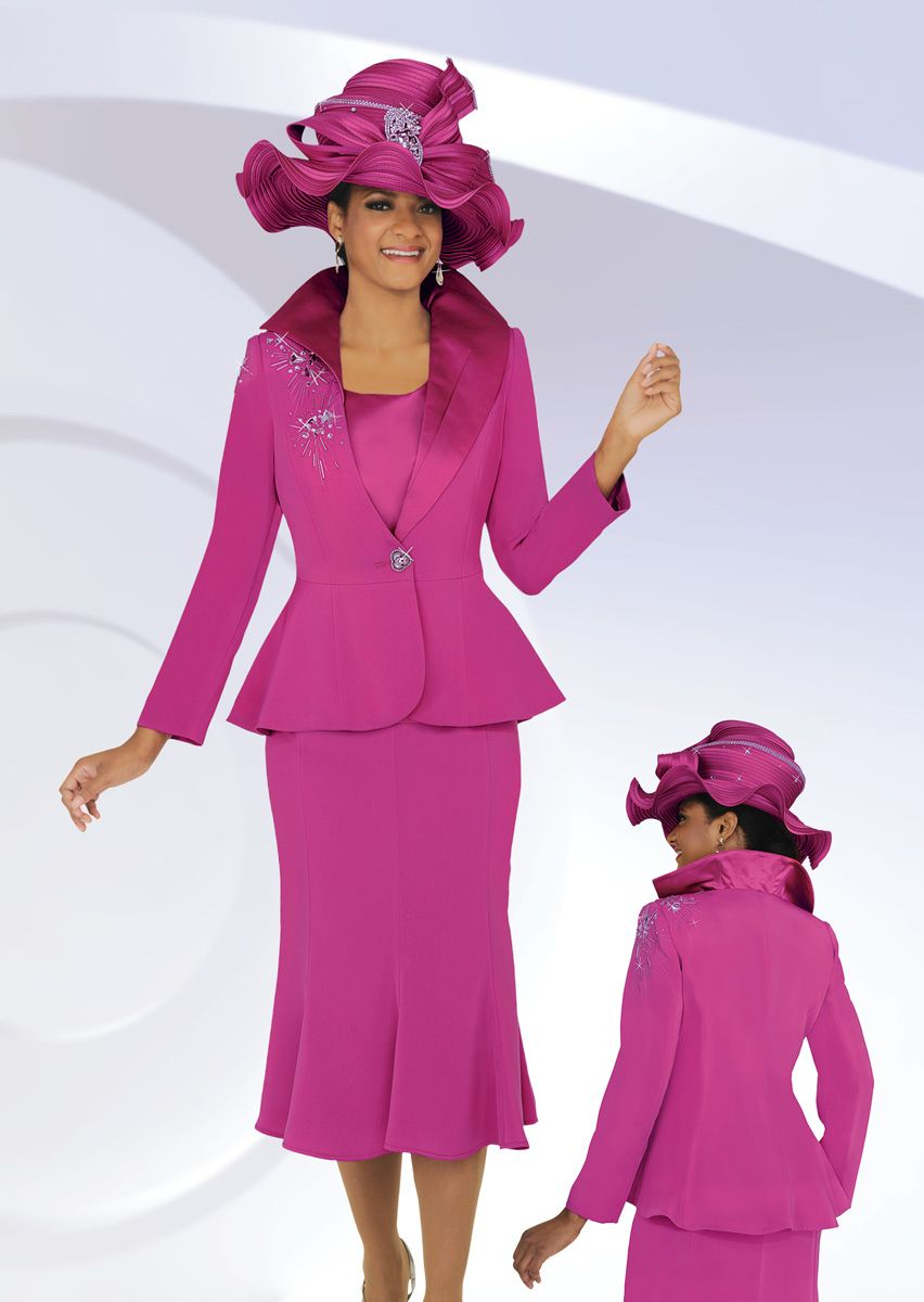 Ben Marc 47712 Womens Fashion Church Suit French Novelty