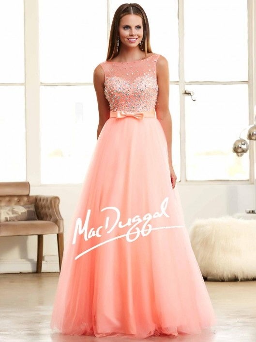 Mac Duggal 48209H Bubble Stone Ball Gown: French Novelty