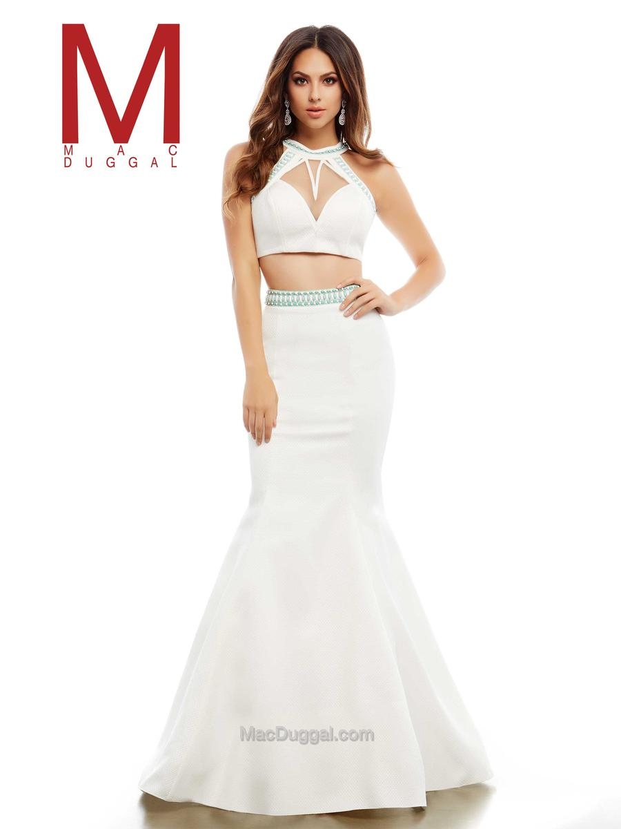 Cassandra stone by mac duggal 48411a mermaid 2pc gown for Pc mary s wedding dress