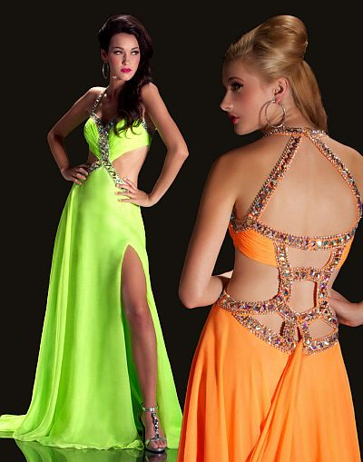 Neon Prom Dresses Cassandra Stone by MacDuggal Gown 50014A: French ...