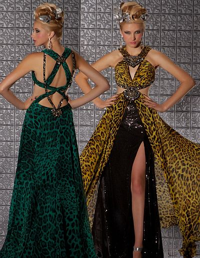 Macduggal Prom Jungle Print
