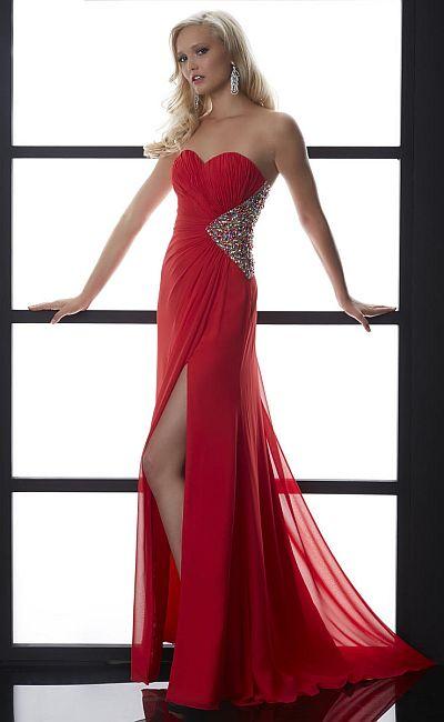 Jasz 5007 Multi Bra Back Formal Dress: French Novelty