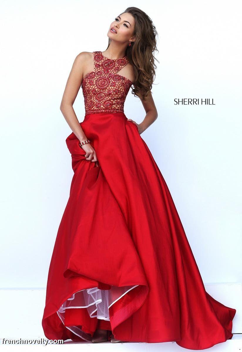 Sherri Hill 50106 Beaded Evening Dress: French Novelty - photo #20