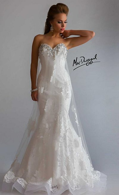 Mac Duggal Wedding Dresses