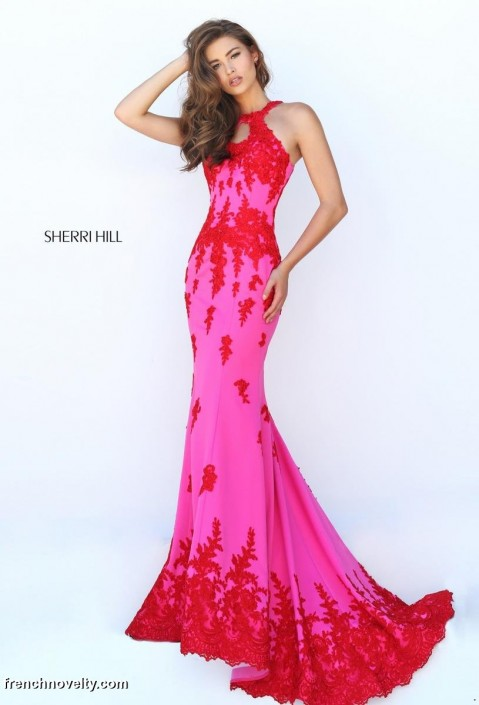 Sherri hill 50277 embroidered floral gown french novelty sherri hill 50277 embroidered floral gown mightylinksfo