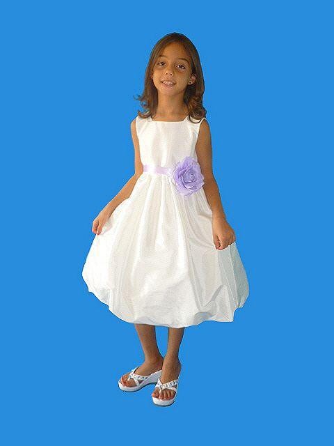 a6f2f82a4516 Rosebud Fashions 5116 Flower Girls Taffeta Bubble Dress  French Novelty