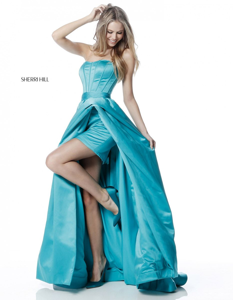 Sherri Hill 51630 High Low Prom Dress: French Novelty