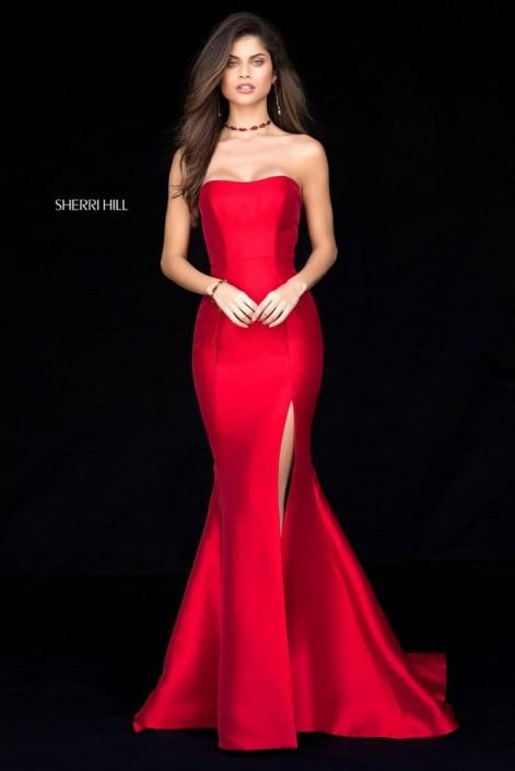 Prom Dress with Slit