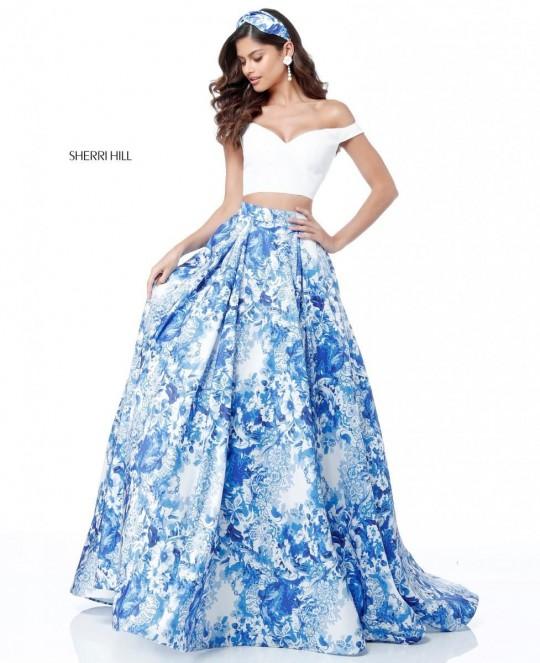 2 Piece Prom Dress Sherri Hill