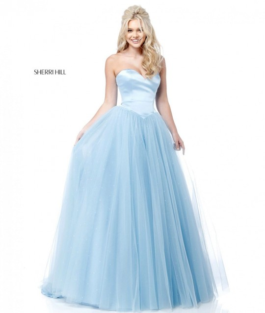 Sherri Hill 51728 Sweetheart Princess Ball Gown: French Novelty