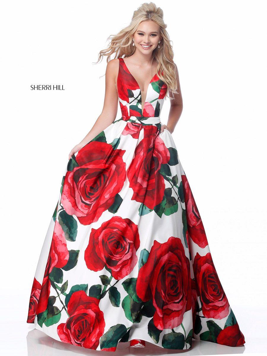 813253f3077 Sherri Hill 11136 Rose