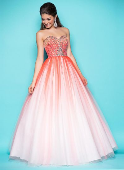 Pink by Blush 5202 Stunning Ball Gown: French Novelty