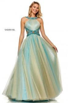e258336995f Sherri Hill 52144 High Low Prom Dress with Pockets.  1