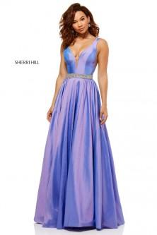 6bab33c2f81 Sherri Hill 52414 Iridescent Prom Dress