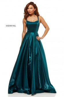 2e8e2d1027f Sherri Hill 52457 Shimmering Strappy Back Prom Dress