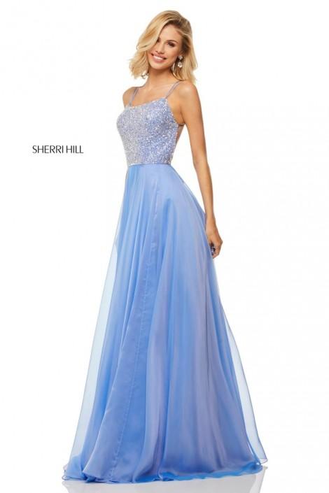 3121f8ec1d Sherri Hill 52591 Beaded Bodice Prom Dress  French Novelty