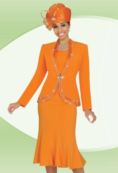 Benmarc Fifth Sunday 52658 Womens Flattering Church Suit French Novelty