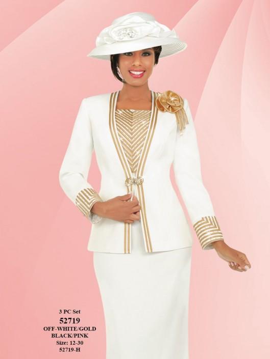 83af8f385449d Ben Marc Fifth Sunday 52719 Womens Embellished Church Suit  French Novelty