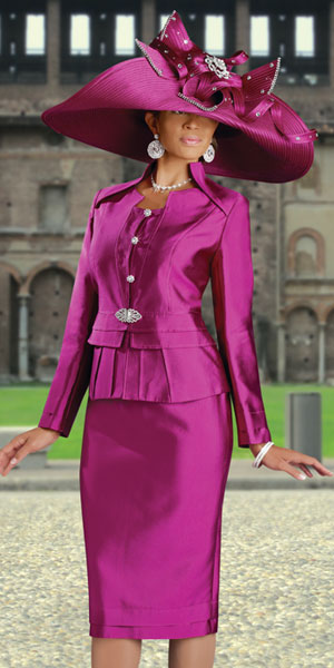 Donna Vinci Couture Womens Church Suit 5348 French Novelty
